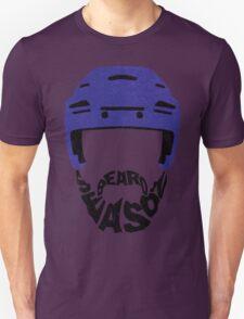 Hockey Beard Season, Blue Helmet Unisex T-Shirt