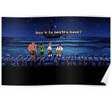 Dov'è la nostra nave? (Monkey Island 1) Poster