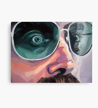 ::: Pete the Trucker (Detail) ::: Canvas Print