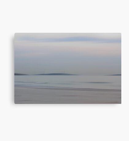 An Island in the Sea Canvas Print
