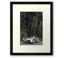 V8 Vantage Shot on Location in Cheddar Gorge ... Framed Print