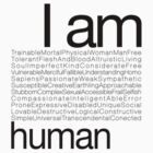 I AM HUMAN C by Yago