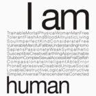 I AM HUMAN C by Yago