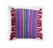 Scarf no background Throw Pillow
