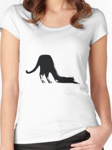 Shoe/Cat Women's Fitted Scoop T-Shirt