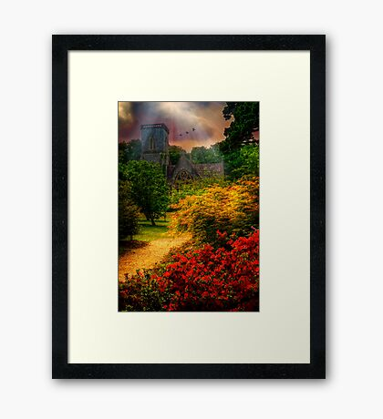 Bicton Church Framed Print