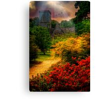 Bicton Church Canvas Print