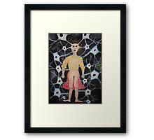 Raw Nerve 1 Framed Print