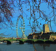 London Eye Perspective II by Al Bourassa