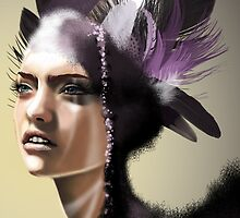 Lady Purple by giuliorossi