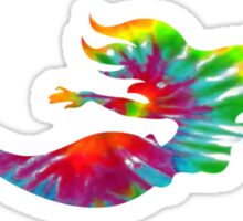 Tie Dye Mermaid Sticker