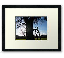 A Childs Retreat Framed Print