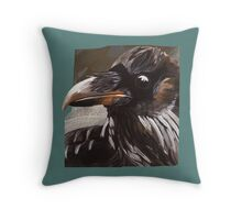 Quoth the Raven Nevermore Throw Pillow