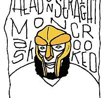 MF Doom by TheDrawingBeard