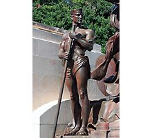 Bronze Sailor Photographic Print