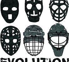 Hockey Goalie Mask Evolution. by gamefacegear