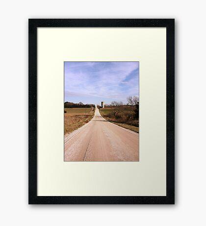 A Look Ahead Framed Print