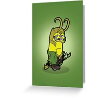Minvengers - Moki Prince of Mischief Greeting Card
