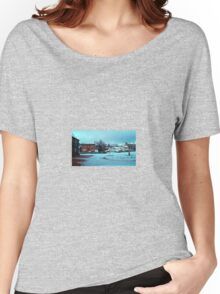 Morning after the Snow Women's Relaxed Fit T-Shirt