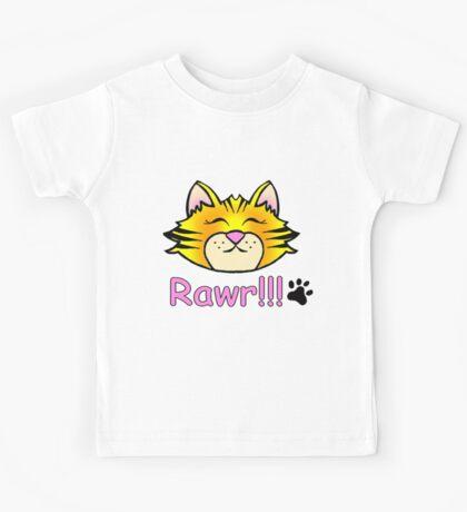 tiger baby RAWR Kids Tee