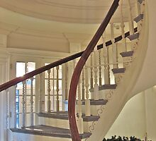 Old State House Staircase by David Davies