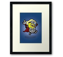 Minvengers - Thorion Prince of Mingard Framed Print
