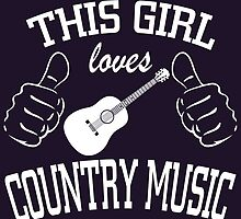This Girl Loves Country Music by fashionera