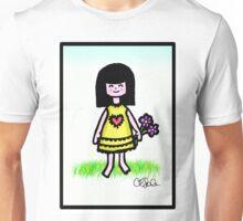 Girl in Spring Unisex T-Shirt