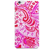 Pink 70's Retro iPhone Case/Skin