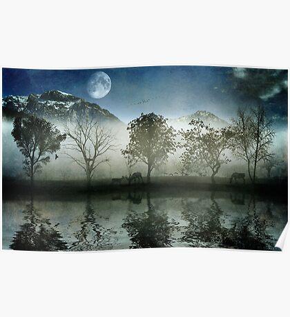 Misty Glen Poster