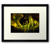 Upstairs,Downstairs,All Around The Town Framed Print