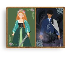 The Hero & The Sorcerer Canvas Print