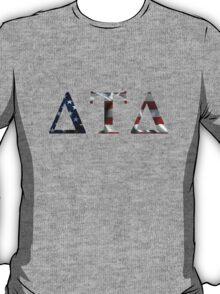 Delta Tau Delta American Flag T-Shirt