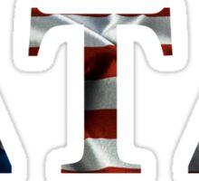 Delta Tau Delta American Flag Sticker