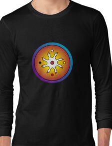 the precious ones... a sacred drum design... Long Sleeve T-Shirt