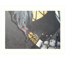 detail from the snake shaman Art Print