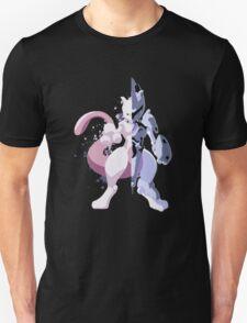 Pokemon - Mewtwo Half Armor T-Shirt