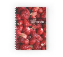 Delicious juicy strawberry Spiral Notebook