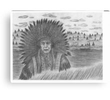 Native Chief Canvas Print