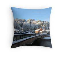 Bridges of Morpeth Throw Pillow