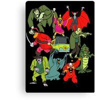 Scooby Doo Villians Canvas Print