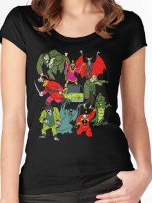 Scooby Doo Villians Women's Fitted Scoop T-Shirt