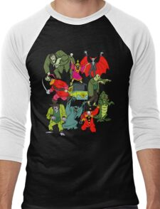 Scooby Doo Villians Men's Baseball ¾ T-Shirt
