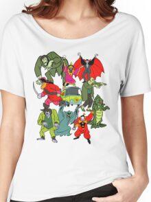 Scooby Doo Villians Women's Relaxed Fit T-Shirt
