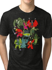 Scooby Doo Villians Tri-blend T-Shirt