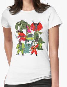 Scooby Doo Villians Womens Fitted T-Shirt