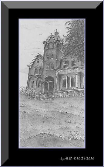 Skene Manor Illustration by PoeticHeartArt