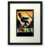 Ratchet & Clank - Strips Horizon Framed Print
