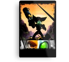 Ratchet & Clank - Strips Horizon Metal Print