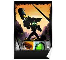 Ratchet & Clank - Strips Horizon Poster